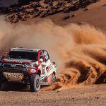 DAKAR 2021: ETAPA 5: Giniel de Villiers – Àlex Haro aconsegueixen la quarta victòria d'etapa consecutiva per a Toyota