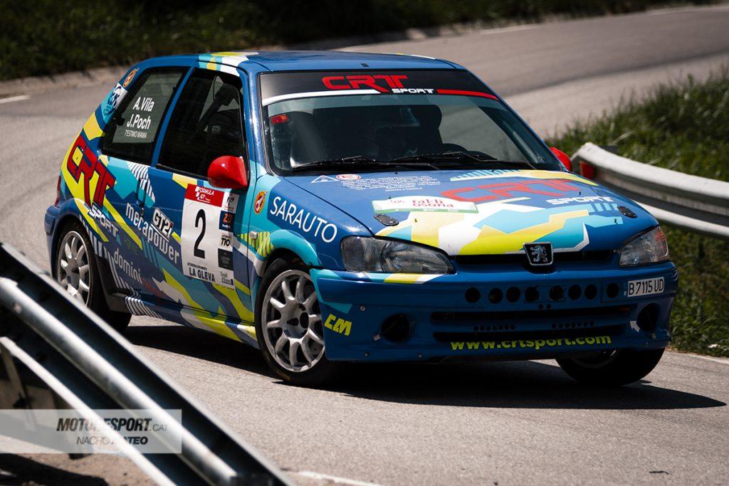 vila-poch peugeot 106 rally osona 2021